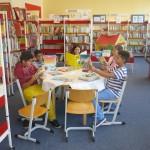 In der Schülerbücherei