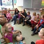 Bundesweiter Vorlesetag in der Klasse von Frau Heyer